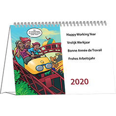 Kantoorkalender 2020 Cartoon